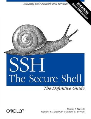 SSH, the Secure Shell: The Definitive Guide 9780596008956