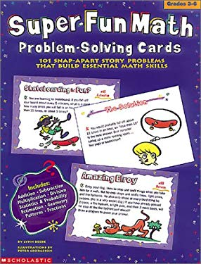 Super-Fun Math: Problem-Solving Cards 9780590255417