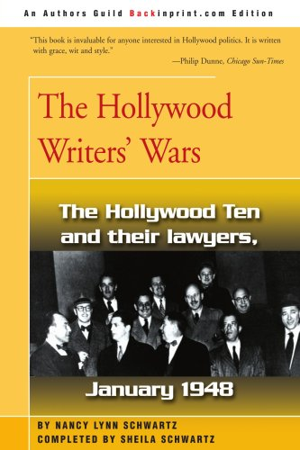 The Hollywood Writers' Wars 9780595190607