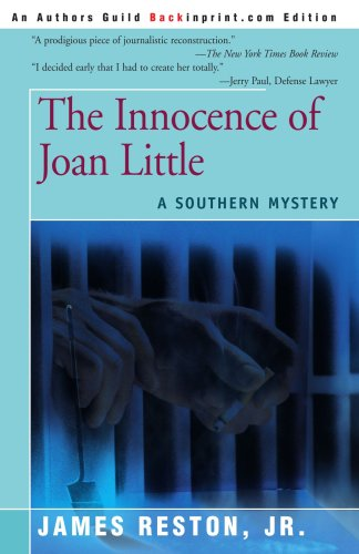 The Innocence of Joan Little: A Southern Mystery 9780595153237
