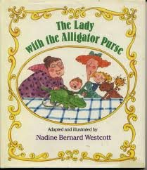 The Lady with the Alligator Purse (9780590980371) photo
