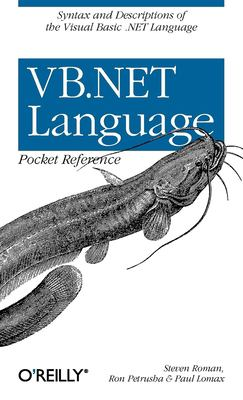 VB.NET Language Pocket Reference 9780596004286