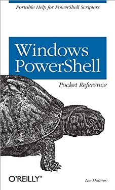 Windows PowerShell Pocket Reference 9780596521783