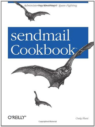 sendmail Cookbook 9780596004712
