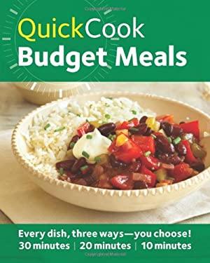 Quick Cook Budget Meals 9780600624059