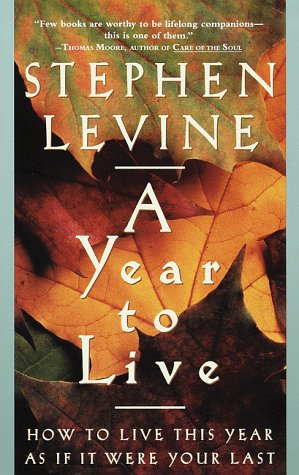 A Year to Live: How to Live This Year as If It Were Your Last 9780609801949