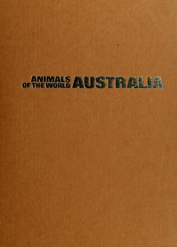 Animals of the world: Australia