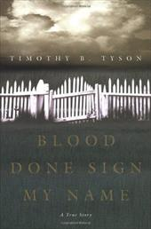 Blood Done Sign My Name: A True Story 2272844