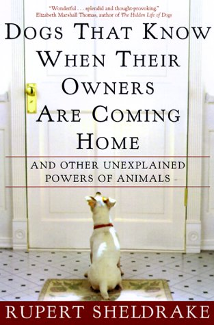 Dogs That Know When Their Owners Are Coming Home: And Other Unexplained Powers of Animals 9780609805336