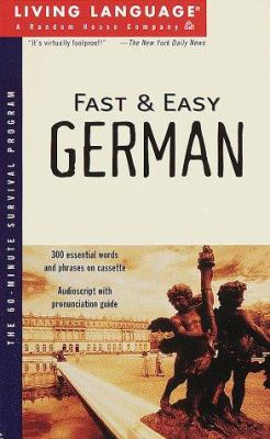 Fast and Easy German [With *]