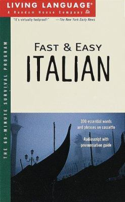 Fast and Easy Italian [With *] 9780609603437