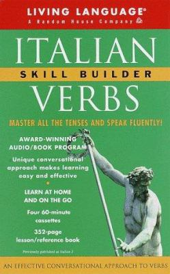 Italian Verbs Skill Builder: The Conversational Verb Program [With 352-Page Manual] 9780609604410