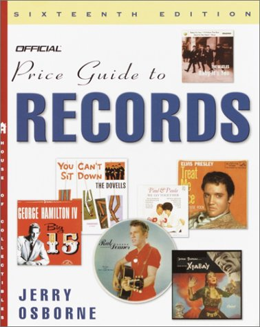 The Official Price Guide to Records, 16th Edition 9780609809082