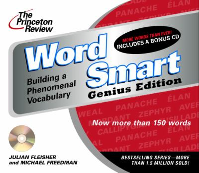 The Princeton Review Word Smart Genius Edition CD: Building a Phenomenal Vocabulary 9780609811108