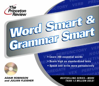 The Princeton Review Word Smart & Grammar Smart CD 9780609811115