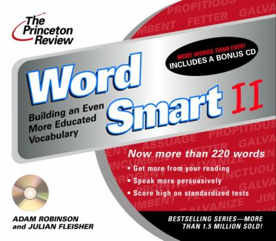 The Princeton Review Word Smart II CD: Building an Even More Educated Vocabulary 9780609811085