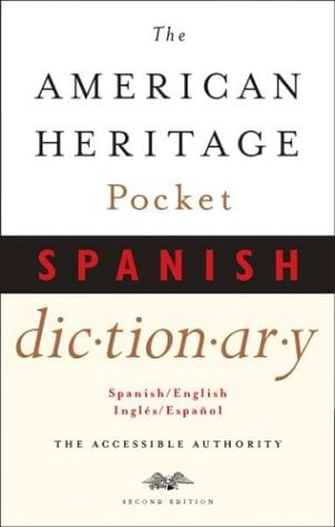 The American Heritage Pocket Spanish Dictionary: Spanish/English - English/Spanish 9780618132164
