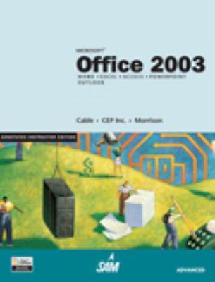 Aie Office 2003 Adv Pasewark 9780619183479