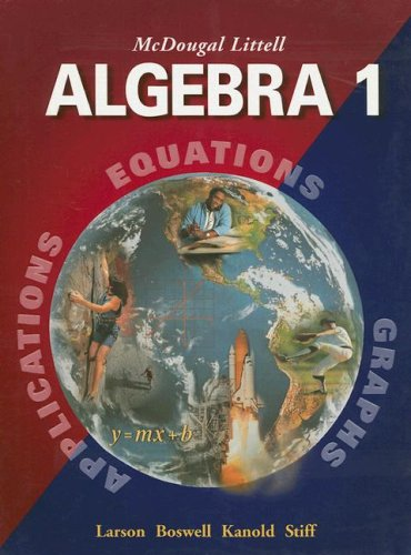 Algebra 1 9780618250189