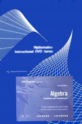 Algebra: Beginning and Intermediate 9780618820863
