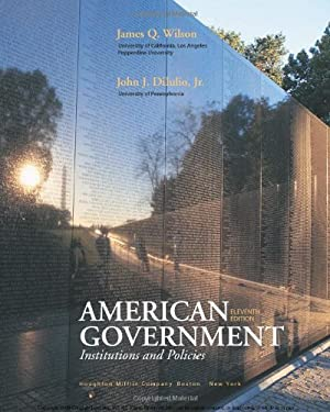 American Government: Institutions and Policies 9780618956128