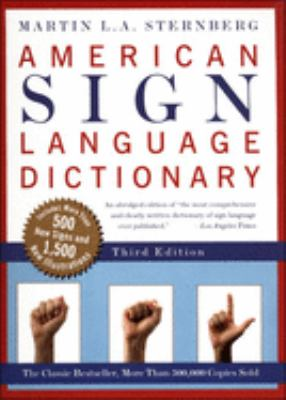 American Sign Language Dictionary 9780613672566