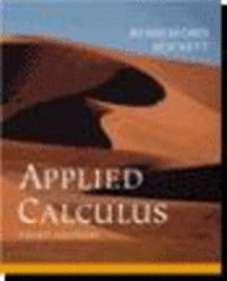 Applied Calculus [With CDROM] 9780618386611