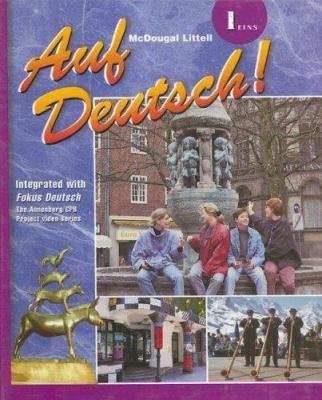 Auf Deutsch!: 1 Eins 9780618029617