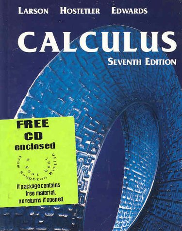Calculus with Learning CD-ROM Seventh Edition 9780618239726