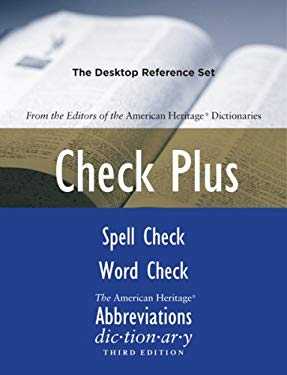 Check Plus: The Desktop Reference Set 9780618846948