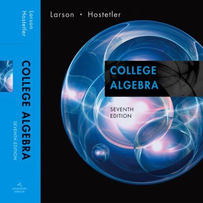 College Algebra 9780618643103