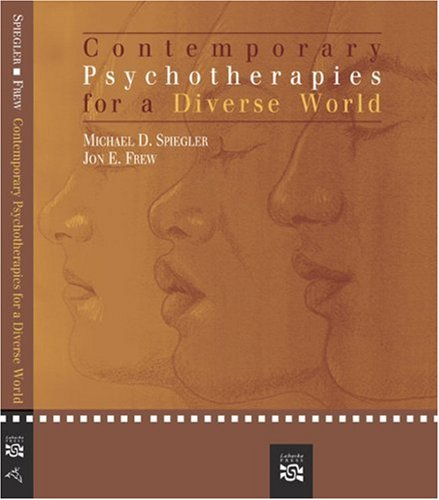 Contemporary Psychotherapies for a Diverse World 9780618573592