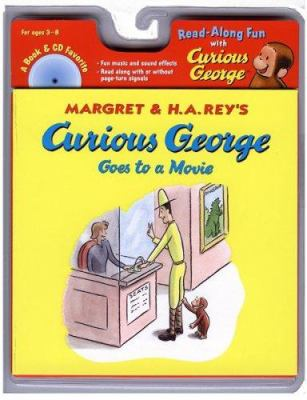 Curious George Goes to a Movie [With Audio CD] 9780618603862