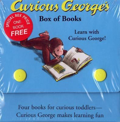 Curious George's Box of Books 9780618226115