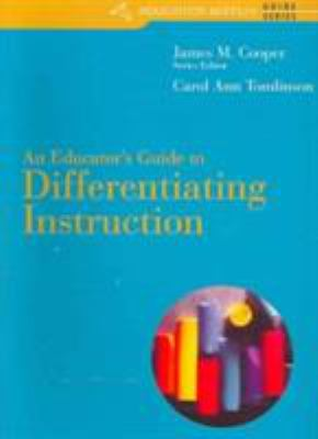 Custom Enrichment Module: An Educator's Guide to Differentiating Instruction 9780618572830