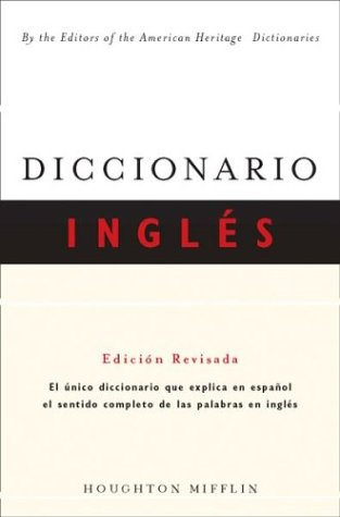Diccionario Ingles Edicion Revisida = English Dictionary 9780618142712