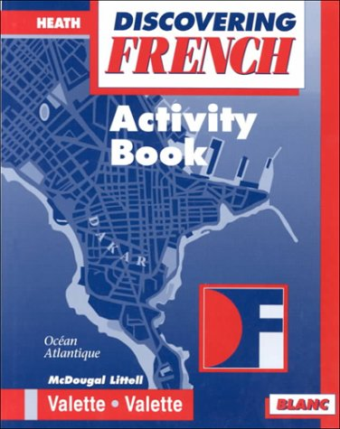 Discovering French Blanc Activity Book 9780618047093