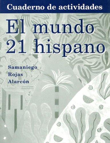 El Mundo 21 Hispano Cuaderno de Actividades 9780618501366