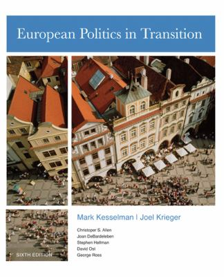 European Politics in Transition 9780618870783