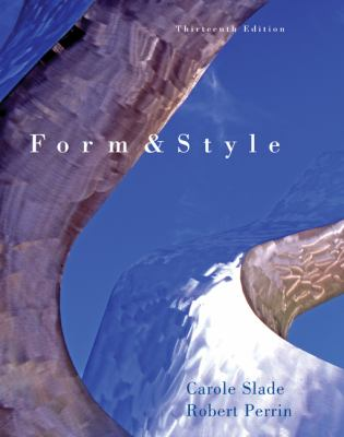Form and Style: Research Papers, Reports, Theses 9780618559473