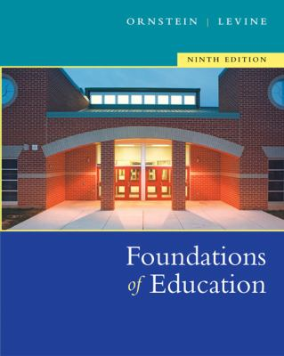 Foundations of Education 9780618474066