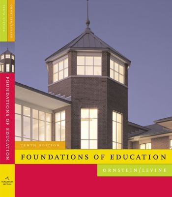 Foundations of Education 9780618904129