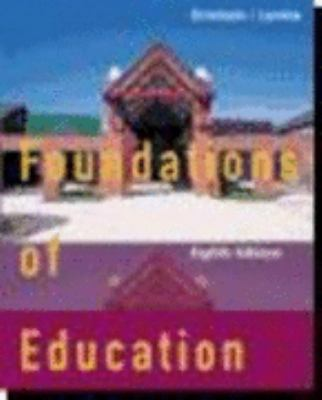 Foundations of Education with Upgrade CD-ROM Eighth Edition 9780618264964