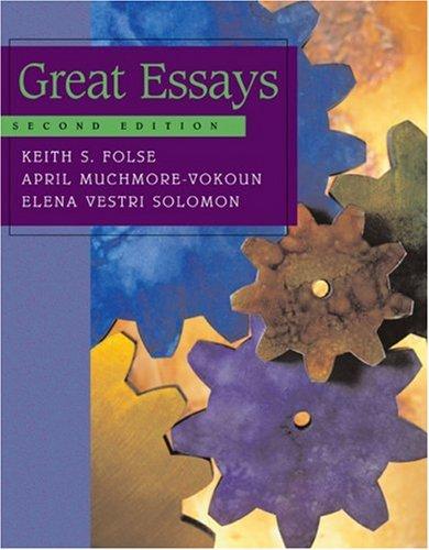 Great Essays 9780618271917
