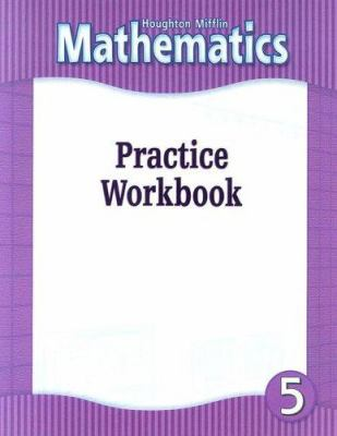 HM Mathematics Practice Workbook Grade 5 9780618104840
