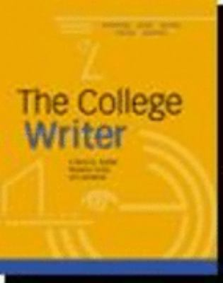 Hardcover: Volume of ...Vandermey-The College Writer: A Guide to Thinking, Writing, and Researching, MLA Update [With CDROM] 9780618419340