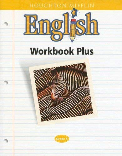 Houghton Mifflin English Workbook Plus: Grade 5 9780618090648