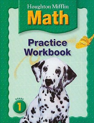 Houghton Mifflin Math: Practice Workbook, Grade 1 9780618389575