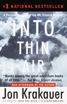 Into Thin Air: A Personal Account of the Mount Everest Disaster 9780613663618