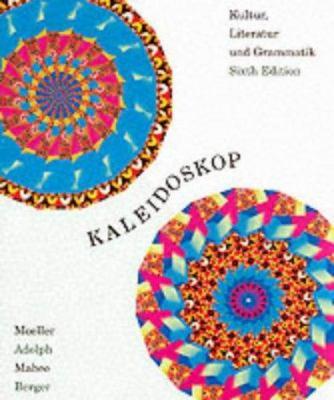 Kaleidoskop: Kultur, Literatur Und Grammatik 9780618103126